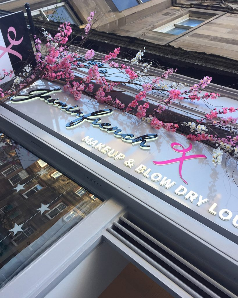 shop front blossom