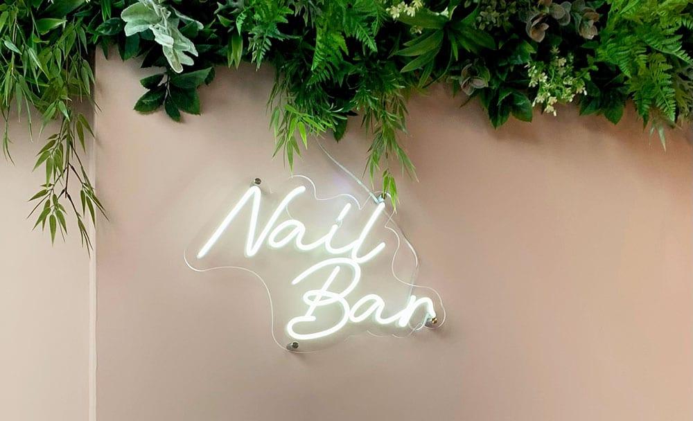 Acrylic Nail Extension Salon Edinburgh