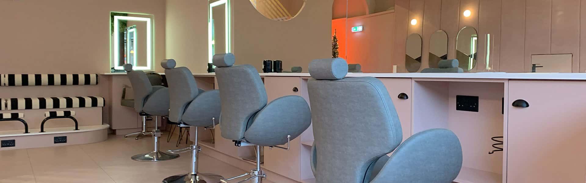 JasminFrench inside the beauty salon edinburgh